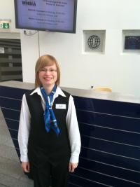 Auf dem Weg in die Top-Hotellerie — Ann-Kristin Breuer, Absolventin der Hotelberufsfachschule an der WIHOGA Dortmund