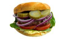 Burger America - hmmm, lecker...........