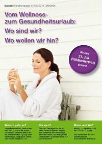 """Busche Branchenupdate: Seminar """"Vom Wellness- zum Gesundheitsurlaub: Wo sind wir? Wo wollen wir hin?"""""""