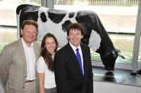Butterexperten 1: v.l. Prof. Dr. Nicolai Worm, Franca Mangiameli, Prof. Dr. Eder