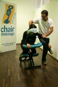 Chair Massage bei TAC, BIldquelle TAC Informationstechnologie GmbH