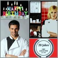 Chef Collection Gastro Work & Funwear feiert 20 Jahre Jubiläum