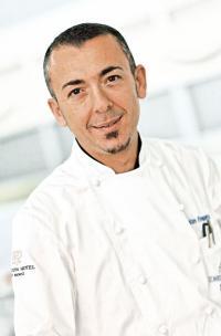 Küchenchef Salvatore Frequente, Bildquelle Tschuggen Hotel Group