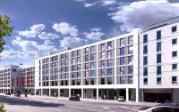 Visualisierung Courtyard by Marriott und Residence Inn by Marriott in München Haidhausen; Bildquelle newswerk - Agentur für Public Relations GmbH