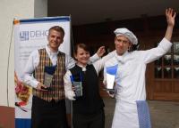 Die Sieger 2011 (von links nach rechts): Tom Dressel, Andrea Matusche und Julien Thiele