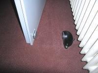 ...sicheren Magnet am Boden
