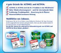 """""""Danone 2010: Einfach gesund und lecker..."""""""