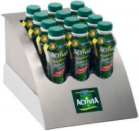 ACTIVIA Drink Kühldisplay / Bildquelle: Danone GmbH