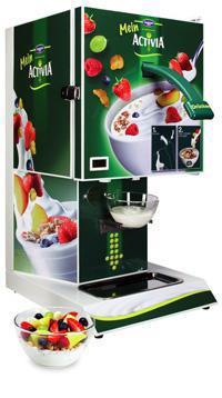 MeinActivia Joghurtspender: Klassisches Design / Bildquelle: Danone GmbH