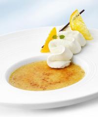 Crème Brûlée mit Orange und Zimt / Bildquelle: Medienbüro Mendack