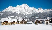 Außenansicht Winter vom Krallerhof in Leogang