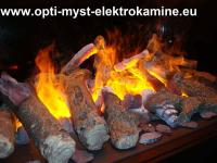 Opti Myst Elektrokamine: Künstliches Feuer als entspannende Illusion