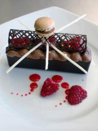 Pfersich Patisserie Schule, Dessert Mangaro; Bildquelle headline daniela bautz projectmanagement