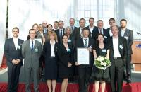 Erfolgreich und mitarbeiterorientiert: Die Preisträger des Hospitality HR Awards 2013 / Bild: Deutsche Hotelakademie, Köln