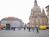 Dresdens Neumarkt mit Frauenkirche; Bilder Sascha Brenning Hotelier.de
