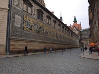 Dresden Stallhof: Er gehörte zum Baukomplex des Residenzschlosses und diente im 17. Jahrhundert als Schauplatz für große Reitturniere