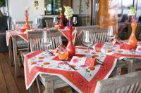 Tischdecken der Sommerkollektion Mainau