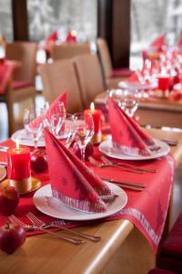 Tischkollektion Winterly Red