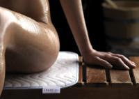 WK-Frottier-Auflage: Attraktive Sitz- oder Liegeauflage für Sauna und Dampfbad; alle Bilderrechte Wäschekrone
