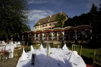 Historisches Ambiente: Im Schloss Balthasar werden badisch-elsässische Spezialitäten serviert. Bildquelle: Europa-Park