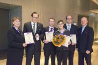 Von links: Iris Schmid FCSI, Mark Gawel, Frank Hagedorn, Carola Mahnke, Robert Reznizak, Klaus Häck FCSI / Bildquelle: FCSI Deutschland-Österreich