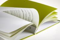 Direct-System - Angebotsseiten lochen und mit dem Fluhrer System in den Umschlag binden. Hier besonders:Transparentseiten - effektvoll mit Trennbogen - in der Farbe passend zum Umschlag unterlegt; Bildquelle Fluhrer