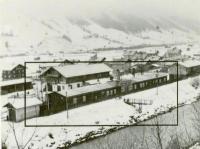 Luftbildaufnahme vom Firmengelände von 1945