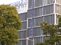 Deutlich hier die gestaltenden Elemente der Fassade des Falkensteiner Hotel Wien Margareten von David Chipperfield, Bildquelle Hotelier.de