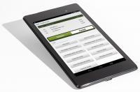 """Fidelio POS8 mobile - neues, innovatives """"Werkzeug"""" für das Serviceteam (mit Android Betriebssystem des aktuellen Nexus 7 von Asus); Bildquelle www.dbmarketingbuero.com"""