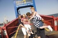 Auf Föhr sind Familien herzlich Willkommen! /Bildquelle: Föhr Tourismus GmbH