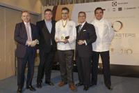 Pastry Cup — Youri Baltaliyski, Hilton Prague Von links: Simon Vincent, James Glover, Youri Baltaliyski, Mike Williams, Anthony Marshall