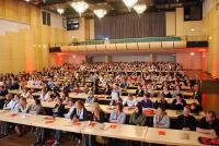 Erneut werden wieder 600 Auszubildende der Veranstaltungsbranche zum Forum VIA Münster erwartet, das zum siebten Mal im Messe und Congress Centrum Halle Münsterland stattfindet / Bildquelle: Messe und Congress Centrum Halle Münsterland