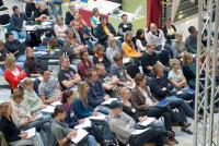 Erneut werden 600 Auszubildende der Veranstaltungsbranche zum Forum VIA Münster erwartet, das zum siebten Mal im Messe und Congress Centrum Halle Münsterland stattfindet. / Bildquelle: Forum VIA Münster