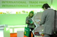 Impressionen der Freshconex 2011 vom Internationalen Fachpressestand / Bildquelle: Messe Berlin GmbH