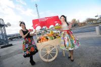 Landestypische Präsentation des Partnerlandes Peru mit frischem Obst und Gemüse / Bildquelle: Messe Berlin GmbH
