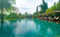 Swimming-Pool vom 'The Chedi Club Tanah Gajah Ubud', Bali, Indonesien