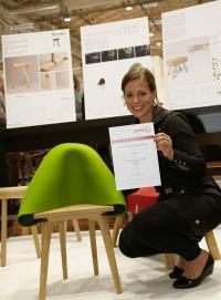 Siegerin Emila Lucht / Bildquelle: GO IN GmbH