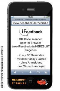 iFeedback vom Herzblut St. Pauli / Bildquelle: Gastro Consulting SKM GmbH