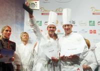 Der Gewinner des Bocuse d´Or Deutschland 2009 Ludwig Heer (Mitte) kocht am Samstag, den 13. März auf der Gastro Vision Hamburg 2010