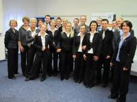 Die Teilnehmer des 20. Studiengangs zum Hotelbetriebswirt (HMA)