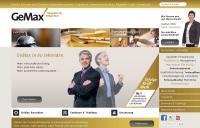 Der neue Auftritt der Website / Bildquelle: Alle GeMax - Coester & Schmidt GmbH