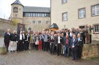 Die Teilnehmer der Genesys Kick Off-Veranstaltung auf Schloss Waldeck / Bildquelle: Genesys International GmbH