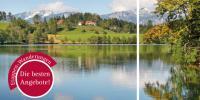 Zehn Angebote für Etappenwanderer auf 16 Seiten - die Broschüre