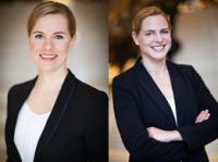 Gitte Balkwitz (links) und Caroline Reber (rechts); Bildquelle gce-agency.com