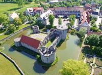 Luftaufnahme vom Göbel´s Schlosshotel Prinz von Hessen