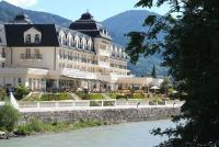 Fantastische Lage: das Grand Hotel Lienz