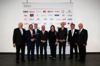 Bild 1: HGK-Vorstand Aufsichtsrat; Namen der Personen siehe unter dem Artikel, Bildquellen HGK