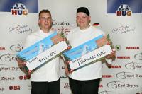 Die Sieger Eric Lehr und Johannes Goll / Bildquelle: HUG AG
