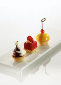 Mini-Dessert-Tartelette Carré