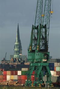 Hamburger Hafen - Motor des Exports